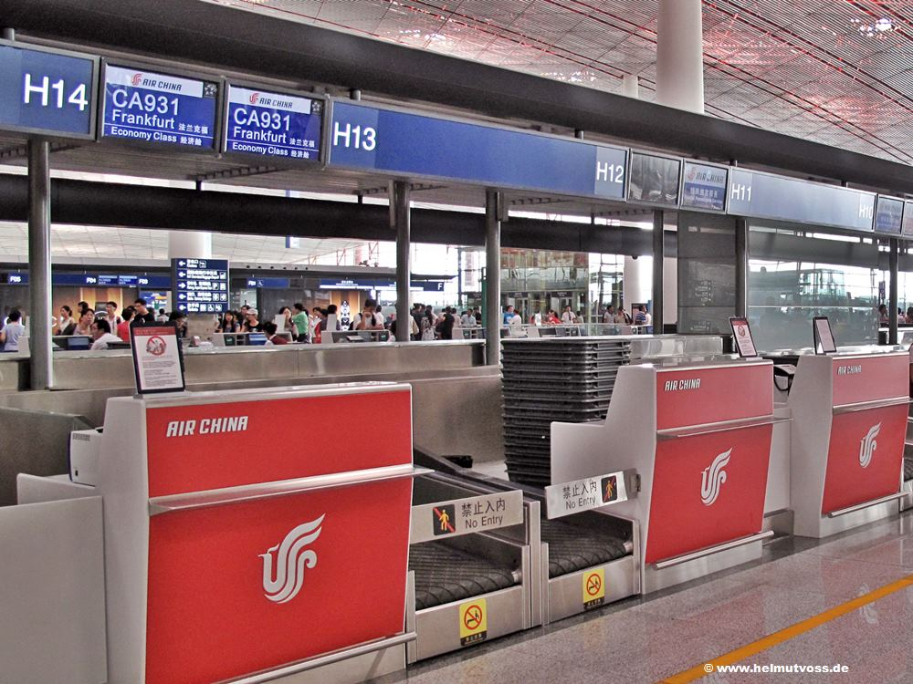 China / Peking - Flughafen Peking, 北京首都国际机场, Beijing Shoudu Guoji Jichang, Pekinger Hauptstadt-Internationalflughafen
