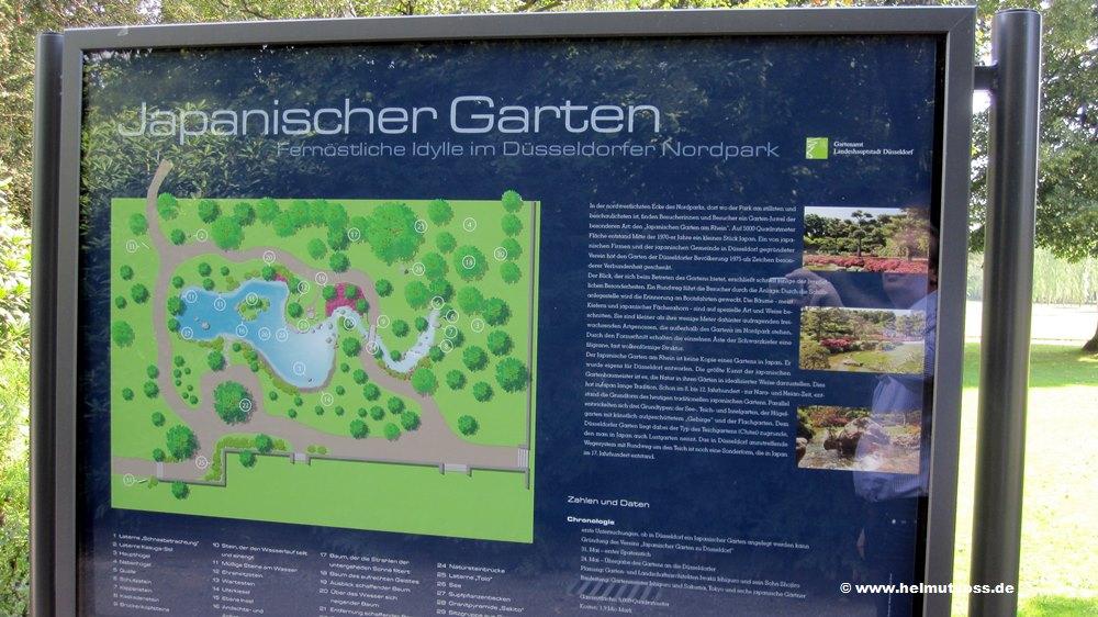 Düsseldorf Japanischer Garten, Japanische Garten am Rhein ...