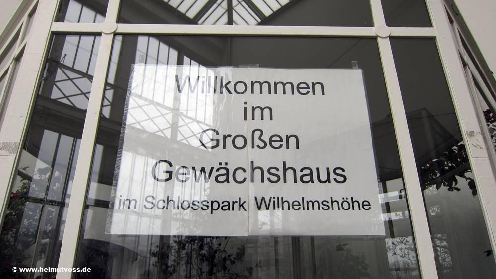 Kassel Grosses Gewachshaus Bergpark Wilhelmshohe Deutschland Germanny