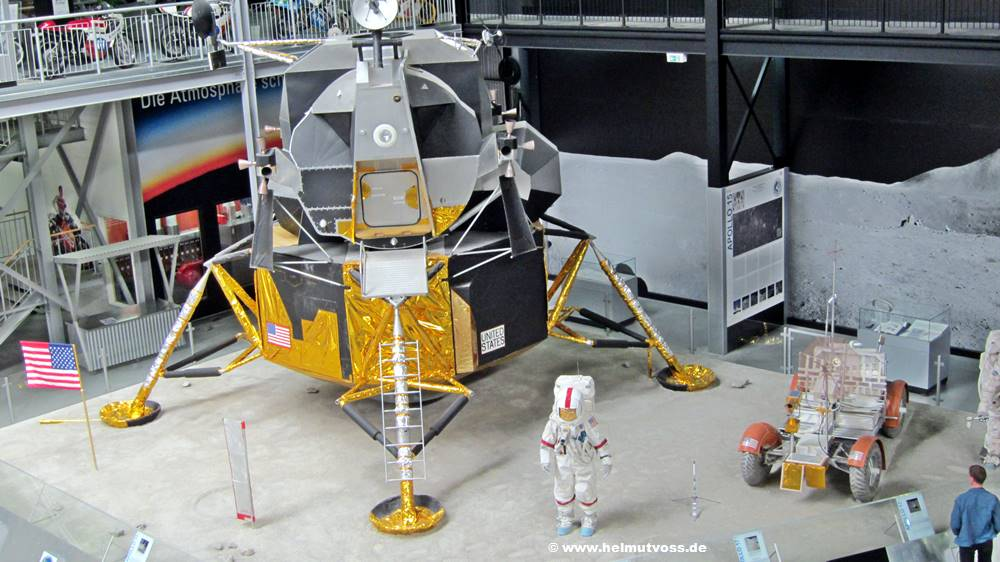 "Technik-Museum Speyer, Mondlandefähre ""Orion"