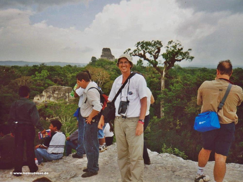 Guatemala, TIKAL, Pyramid of the Lost World, Dschungellandschaft, El Peten, Mundo Maya