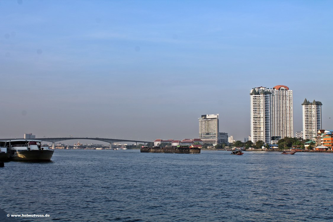 Bangkok, Chao Phraya River, Asiatique The Riverfront
