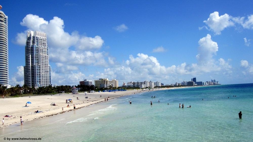 Usa Florida Miami South Beach Strand